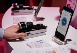Tijdens het Mobile World Congress in Barcelona is een reeks (mede) voor medische doeleinden bedoelde mobiele producten gepresenteerd, zoals de Moto Health Mod van Lenovo.