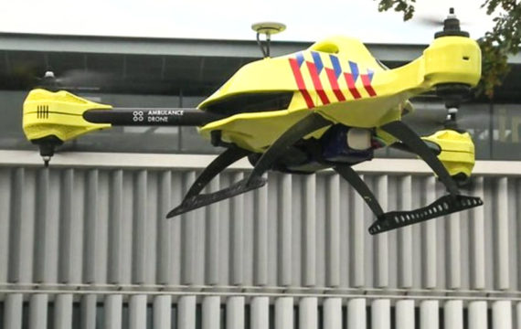 Defibrillator equipped drones have potential in saving lives