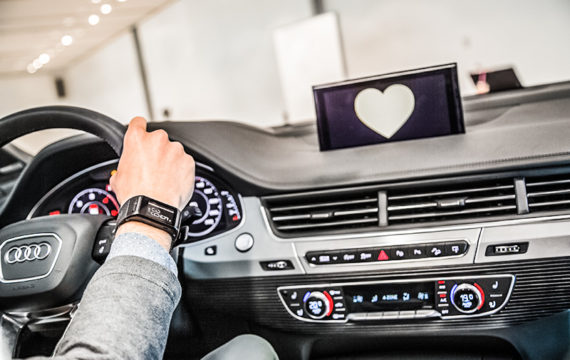 Audi focuses on the well-being and health of the driver