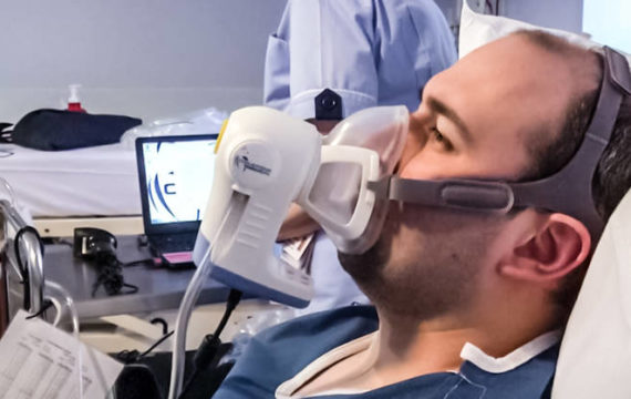 New breathalyser shows long cancer in early stage
