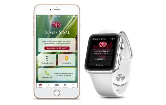 Cedars-Sinai makes patient app available on Apple Watch