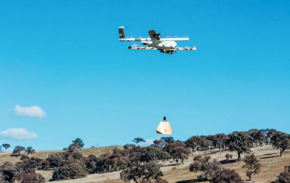 Google testing drone deliveries of medication in the Australian skies