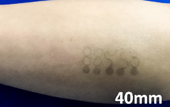 Graphene tattoo can replace bulke measurement equipment