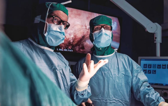 Karolinska University Hospital builds flexible operating room around surgical team