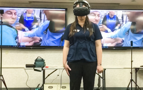 Preality VR can help medical students learn to cope with stress situations