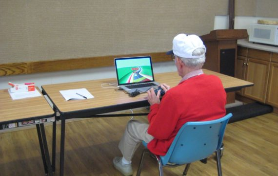 Combating depression among the elderly with videogames