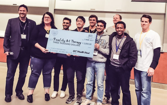 Pokemon Go like app to get patients moving wins San Diego hackathon