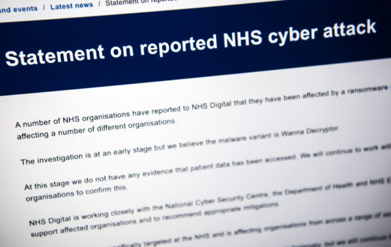 NHS slowly returning to 'normal' after WannaCry attack
