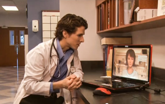 Virtual human program improves bedside manners of aspiring doctors