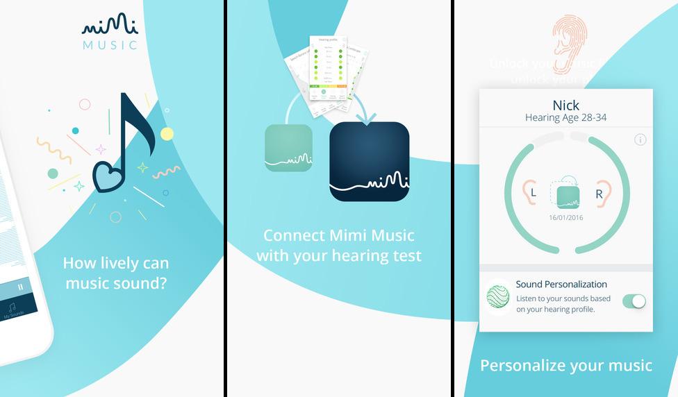 Mimi Music hearing test Ehealth