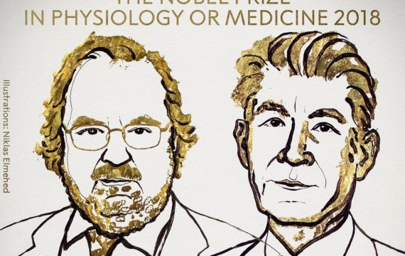 The Nobel Prize In Physiology Or Medicine 2018 Announced