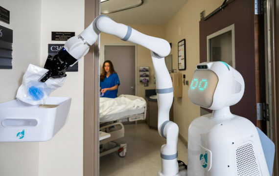 Robots In Healthcare: Creepy Dolls, Therapists Or Social Companions?