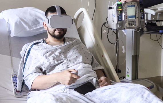 New Study Confirms Virtual Reality is A Painkiller